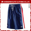 Customised Fashionable Men′s Basketball Shorts Navy Blue (ELTBSI-6)