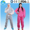 Nonwoven SMS/SBPP Red Coveralls, Full Protection Disposable Coveralls