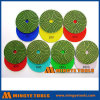 4 Inch Diamond Resin Polishing Pads for Floor