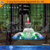 Seafountain Design Program Control Fountain with Decorative Lamp