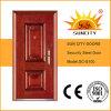 Simple Design Exterior Steel Main Door (SC-S100)
