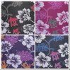 600d Oxford Flowers Printing Polyester Fabric with PVC