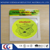 Promotional Gift Smile Face PVC Reflective Sticker