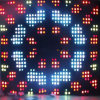 2m * 3m P15 Programmable&Tricolor LED Video Backdrop Cloth for Party Club