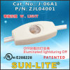 Through-Cord Switch (W. Light) (On-Off) ; J-06A1
