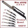 M601f Factory Directly Sales Titanium Barrel X Style Design Hair Curler