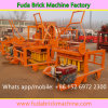 Qm4-45 Diesel Mobile Interlocking Brick Machine with 4 PCS Mold