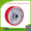 Polyurethane Cast Iron Roller Bearing Caster Wheel