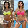 2017 Hot Sale European Sexy Swimwear Plain Fashion Ladies Bikini