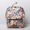 Chrysanthemum Patterns Waterproof PVC Canvas Backpack (99239-5)