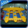 6 Seat Inflatable Towable Flyfish for Kids and Adults, Inflatable Sports Water Flying Fish