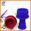 Tabacco Nargile Bowl Silicone Material Glass Smoking Pipe Glass Water Pipe Shisha Hookah