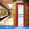 China Manufacture Wood Grain Bathroom Door with Decorative Grill