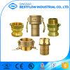 Brass Camlock Quick Thread Couplings a/B/C/D/E/F