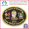 100 Years Anniversary Souvenir Emblem Embroidery for Promotion
