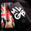 Wholesale Anti Fall Embossed Painted Mobile Phone Case for iPhone 6/6s/6 Plus