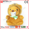 Supply Cheap Stuffed Plush Animal Lion Keyrings