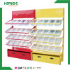 Convenience Store Snack Candies Shelf with Plastic Trays