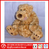 Brown Plush Cute Dog Toy for Baby Gift