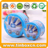Candy Metal Tin Sets of Tin Box with 3D Embossment