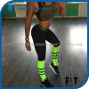 Color Matching Leggings Bodybuilding Clothes for Female High Waist Fitness Pants Workout Activity Leggings