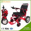 Lightweight Aluminum Electric Folding Wheelchair for Children