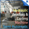 Tailor Made Semi-Automatic 18L Chemical Steel Round Pail Can Body Making Beader and Curling Combination