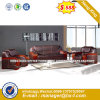 Modern Europe Design Steel Metal Leather Waiting Office Sofa (HX-F655)