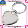 Metal Keyring with Heart Shape