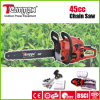 Teammax Easy Start 45cc Gasoline Chain Saw with Real Euro II Certificate