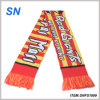 2015new Custom Jacquard Print Football Scarf Fan Scarf Fan Scarf