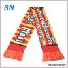 2015new Custom Jacquard Print Football Scarf Fan Scarf Fan Scarf