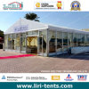 Large Clear Span Event Tent with Glass Doors and Glass Walls