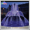 Holiday Decorative White Outdoor Park Decoration LED Fountain Lights