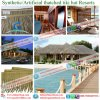 Synthetic Straw Thatch African and Would Like to Make Technical and Fireproof for Roof Resort 2343