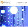 LED Ball String Light DMX512 RGB 50mm 3D Ball Light