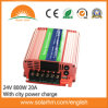 (HM-24-800) 24V 800W Hybrid Inverter Can with City Power