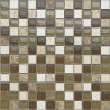 25*25 Crackle Crystal Glass Tiles Mosaic for New Decoration