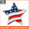 Star Shaped American Flag Patriotic Lapel Pin