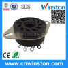 General Miniature Round Type Industrial Automotive Relay Socket with CE
