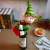 Christmas Santa Claus Wine Bottle Cover (JG667)