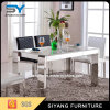 Home Furniture Dining Set Dining Table White Glass Dining Table