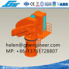 5 Ton 20m Outreach Remote Control Folding Boom Pedestal Crane