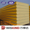 Fireproof PU /Rock Wool/EPS Sandwich Panel with ISO9001