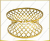 2017 Modern Design New MDF Top Golden Frame Center Table