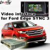 Android 4.4 5.1 GPS Navigation Box for Ford Edge Sync 3 with Mirrorlink Video Interface
