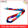 Custom Lanyard Silk Screen Printing Tube Polyester Lanyard