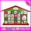 2016 Wholesale Wooden Christmas Advent Calendar, Cheap Wooden Christmas Advent Calendar, Wood Christmas Advent Calendar W02A188
