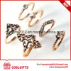 New Arrival 6PCS/Set Boho Style Women Diamond Finger Ring Sets