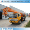 Easy Used Telescopic Arm Small Lift Crane Truck with Double Winch